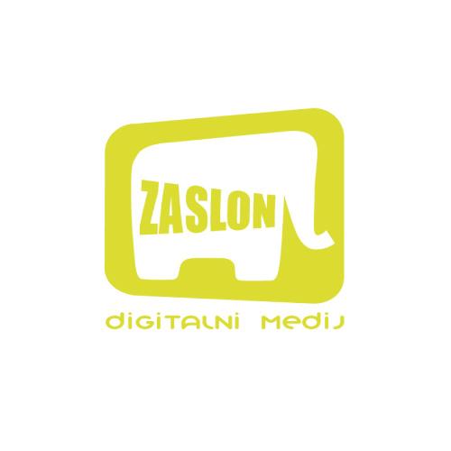 Zaslon logo